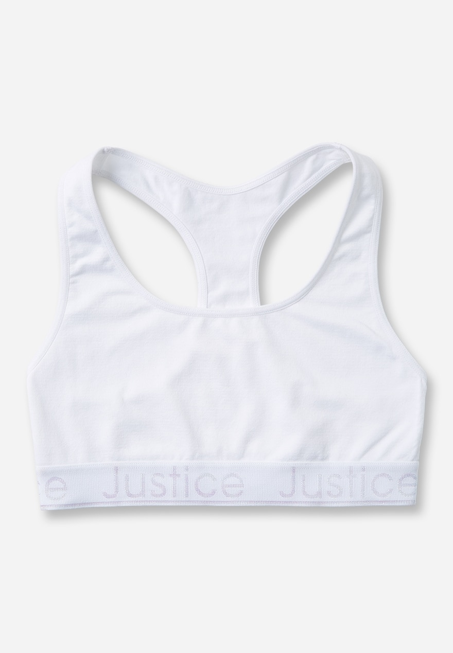 KWD5 / QR60 / AED65 / BD6.5 / JD14 / SAR75 / OMR6    Justice Branded Sports Bra    15680323601