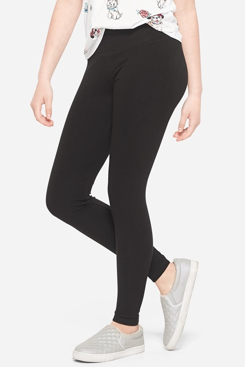 KWD5 / QR60 / AED65 / BD6.5 / JD14 / SAR75 / OMR6    Classic Full Length Black Leggings    15222529610