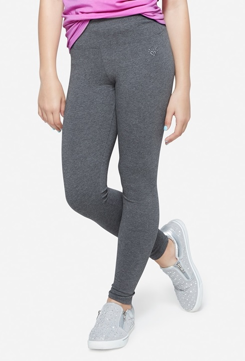 KWD5 / QR60 / AED65 / BD6.5 / JD14 / SAR75 / OMR6    Classic Full Length Grey Leggings    15222529608
