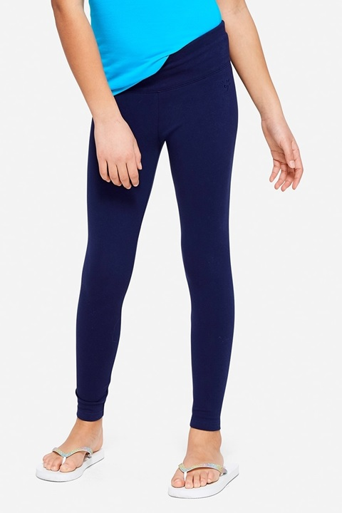 KWD5 / QR60 / AED65 / BD6.5 / JD14 / SAR75 / OMR6    Classic Full Length Navy Leggings    15222529623