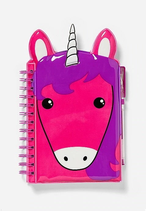 KWD6.5 / QR80 / AED85 / BD8.5 / JD18 / SAR95 / OMR8    Color Changing Squishy Unicorn Journal    16213332619