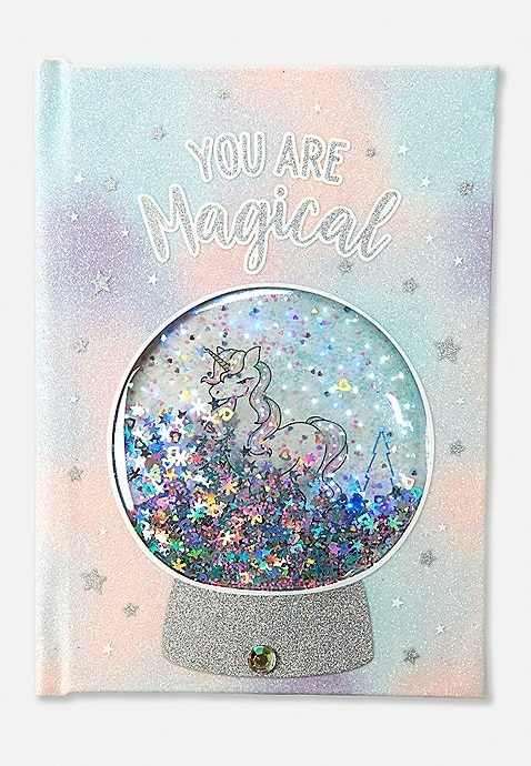 KWD10.5 / QR130 / AED135 / BD14 / JD32 / SAR150 / OMR13    Magical Unicorn Light Up Journal    16211672619
